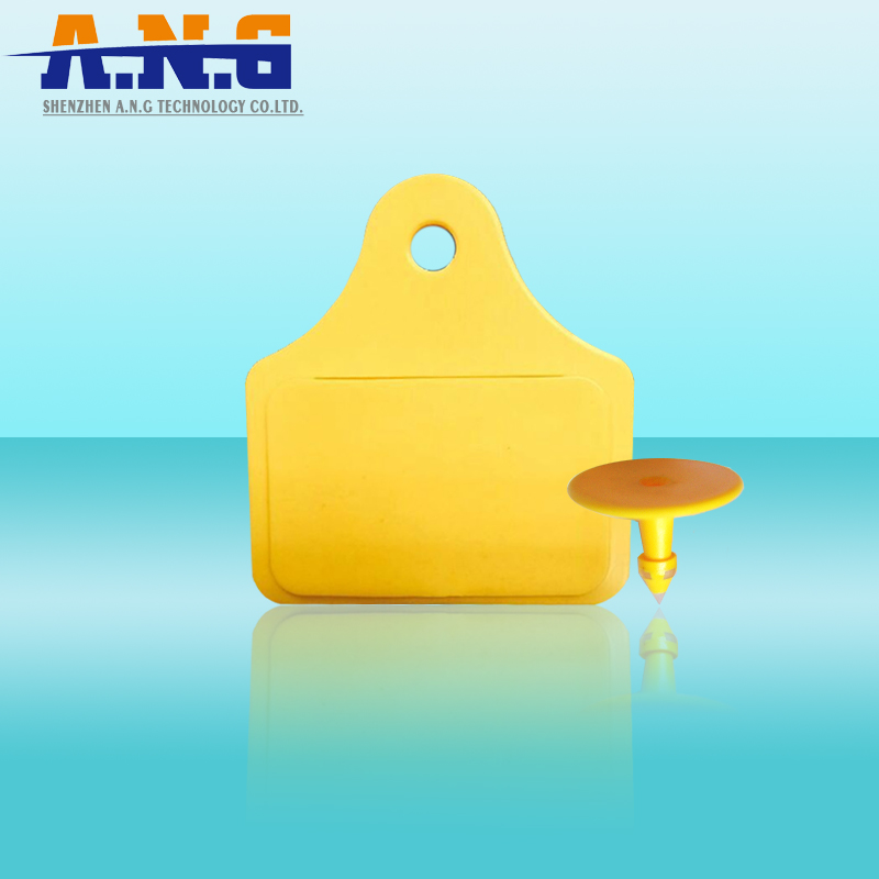860 – 960 Mhz Rfid Animal Tags Long Distance With Higgs 3 Chip / Iso18000 – 6C