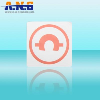 Papel de la lectura se puede escribir Etiquetas RFID HF reutilizable para la etiqueta de seguridad Biblioteca