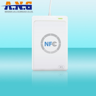 Desktop NFC Rfid Reader ACR122U / 13.56Mhz USB Rfid Reader For Mifare IC Card