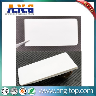 Flexible Foam Tag Printable UHF RFID Anti-Metal Label For Asset Tracking