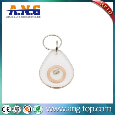 125kHz Transparent RFID Key Tag ID Card for Access Control