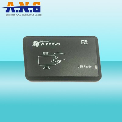 ABS Rfid USB Reader Black Lf 125Khz Rfid Reader For Windows System