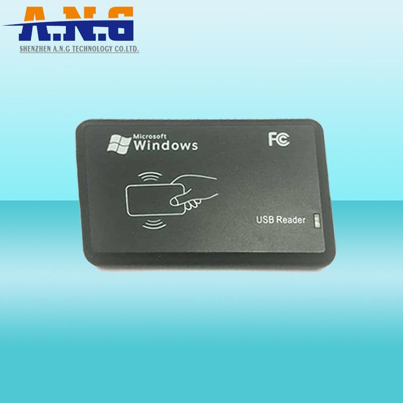 ABS Rfid USB Reader Black Lf 125Khz Rfid Reader For Windows System