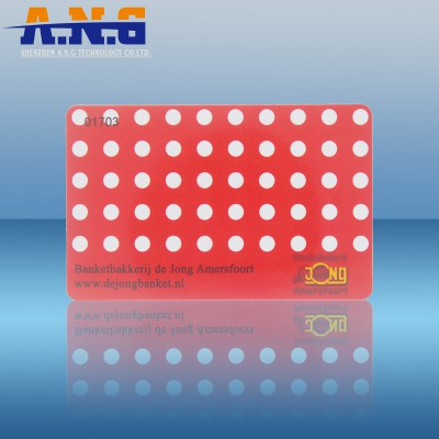Ti2048  ISO 15693 Paper 13.56 Mhz HF Rfid Tags Round Sticker