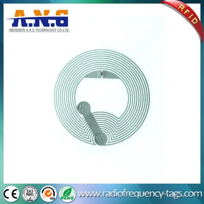 Dimension 21mm Hf Ntag213 RFID Antenna NFC Dry Inlay