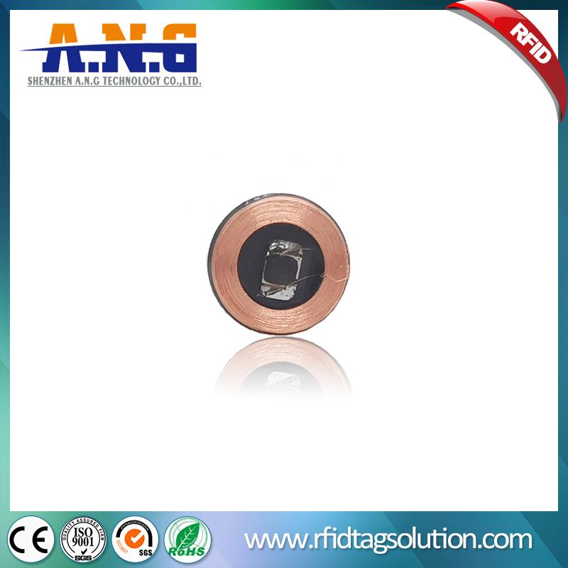 Diameter 13mm EM4200 RFID Mini Coin Tag