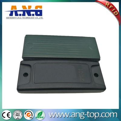 Almacén de contenedores Gestión ABS RFID UHF Tag anti metal RFID con adhesivo 3M