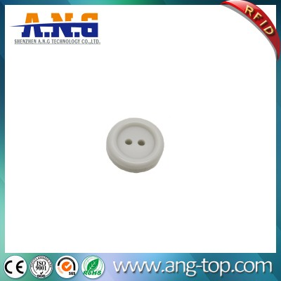 Washable UHF RFID Button Laundry Tag For Clothes and Garment