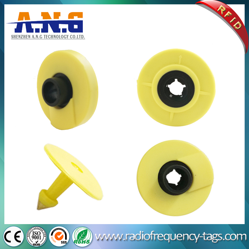 125kHz RFID Animal Ear Tags Contactless for Identification Tracking