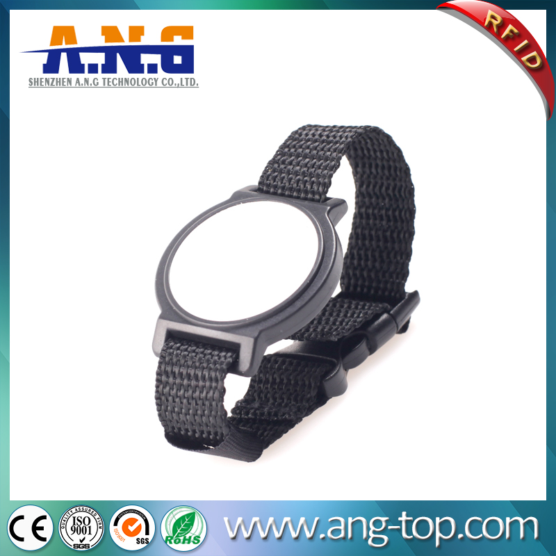 Nylon Material Adjustable Watch Strap Wristbands For Events