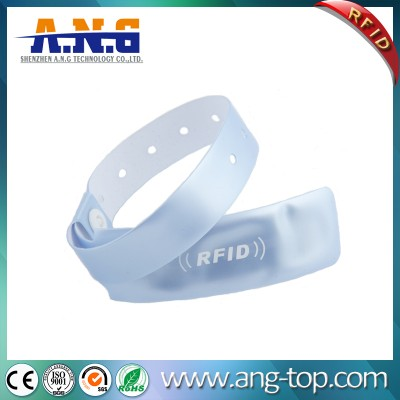 Disposable UHF RFID Wristband For healthcare industry