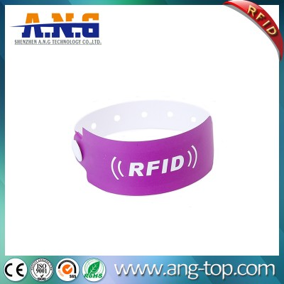 Tyvek Disposable RFID Paper Wristband For Events