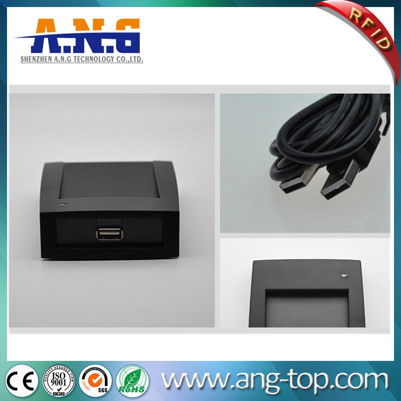 FDX-B 134.2KHz animal microchip tag RFID desktop LF reader with USB