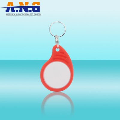 Small Plastic Hf Rfid Key Tag / Fob For Logistic Tracking
