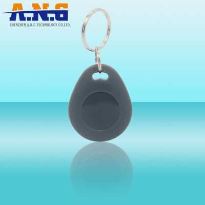 Programable 13.56 Mhz NFC Hf Rfid Key Tag / Rfid Keyfobs Passive