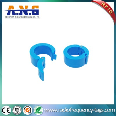 13.56MHz Hf RFID Animal Foot Ring Tag for Pigeon Racing
