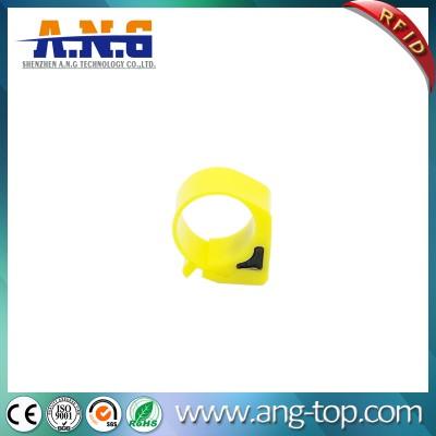 Impermeables del pie anillo pasivos etiquetas RFID para el pollo ganso del pato