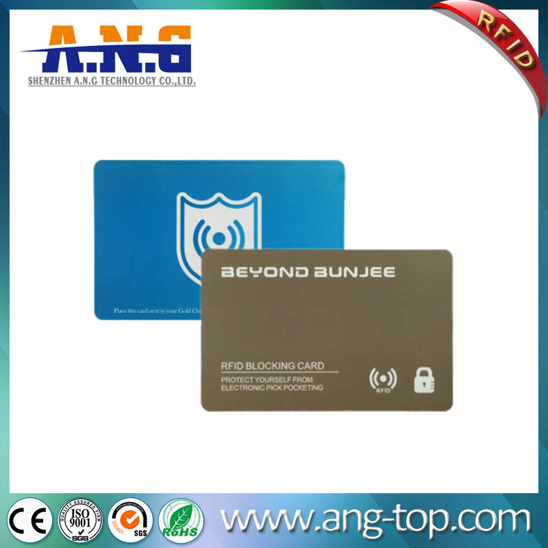 Security RFID Wallet Blocking Card protect your personal information