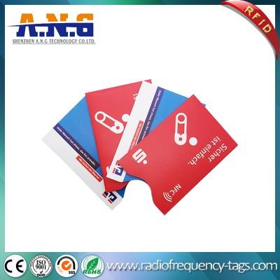 RFID Blocking Credit Card Protector Passport Blocking Sleeve