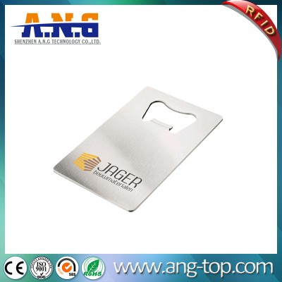 Custom Printed Cards Metal Credit Card Bottle Opener for Beer