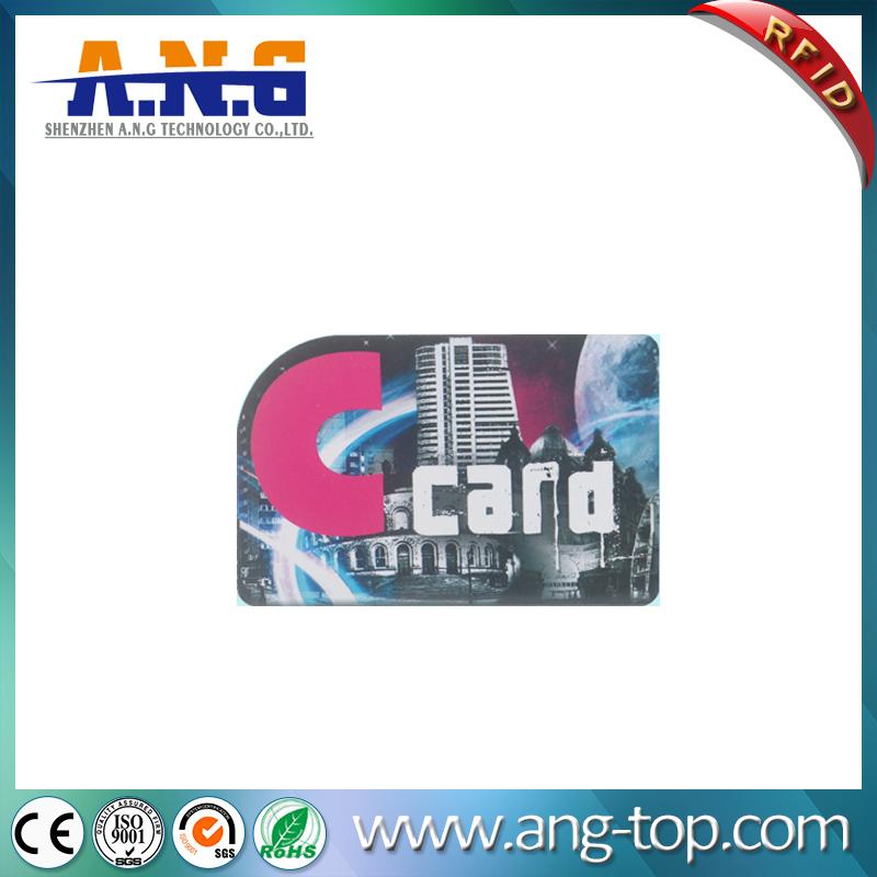 Irregular Shape Custom PVC Gift Card Plastic For Commemorative