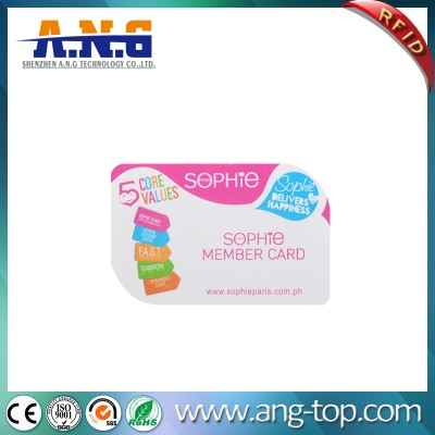 Round Corner Plastic Smart Card With Full Color Printing