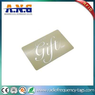 13,56 Cmyk impression ISO14443A plastique IC RFID Smart Card