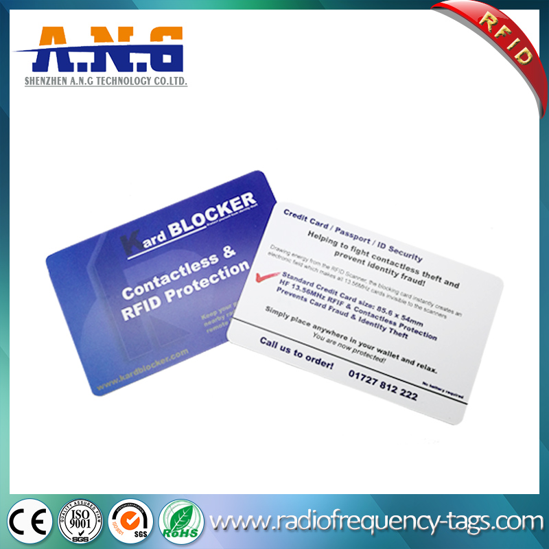 Printed CR80 Plastic Rfid Smart Card 13.56Mhz Mifare Classic S70 With Full Color Printing