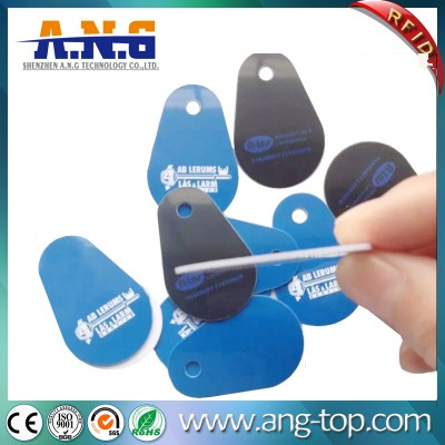 IP68 Passive Glassfiber Custom Printed Proximity Contactless Key Card