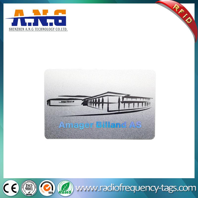 Qr Code Custom Printed NFC ISO14443A Ntag216 13.56MHz RFID Card