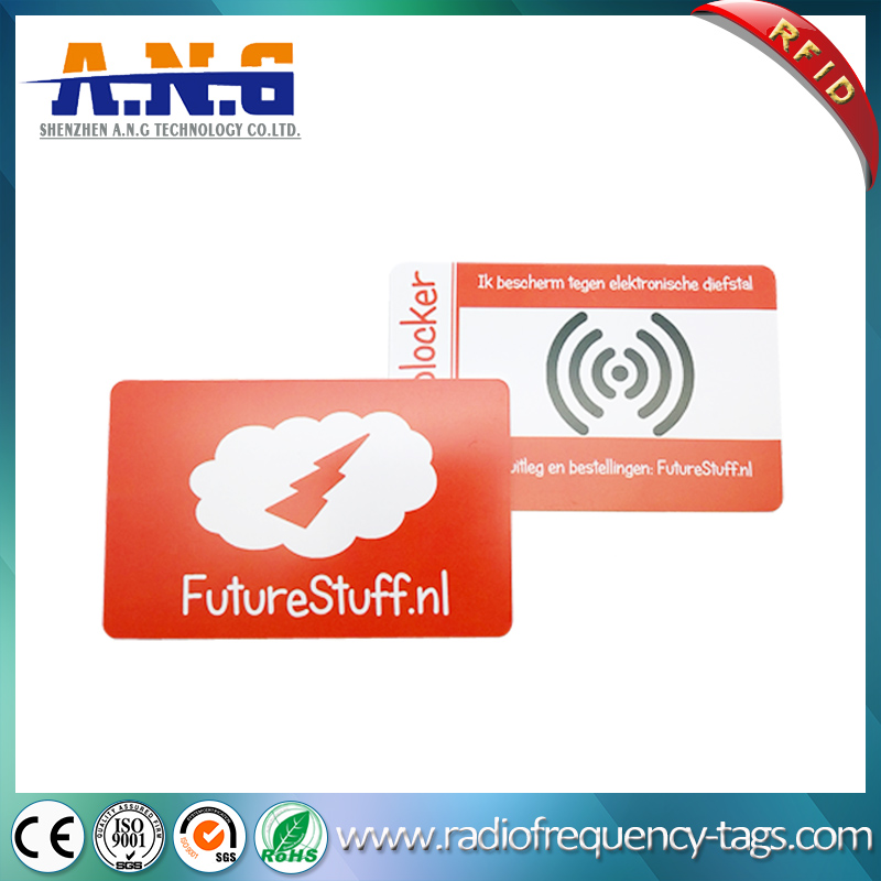 High Security Professional Anti Scan RFID Chip Card Wallet Protector