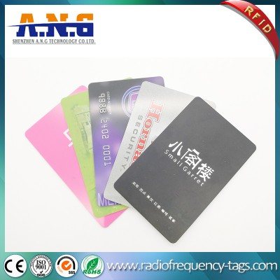 Plastic RFID Smart MIFARE 1k Card for Security Membership Management