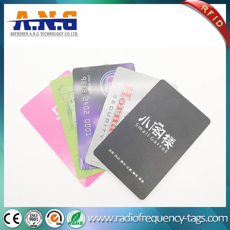 Plastic RFID Smart MIFARE 1k Card for Security Membership Management