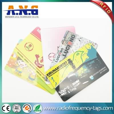 Standard CR80 RFID Contactless Mifare Card with Signature Panel