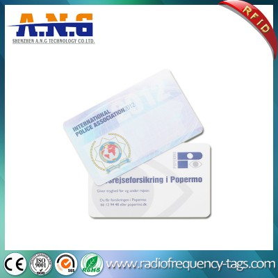 Cr80 ISO Standard Printed RFID PVC Contactless ID Card
