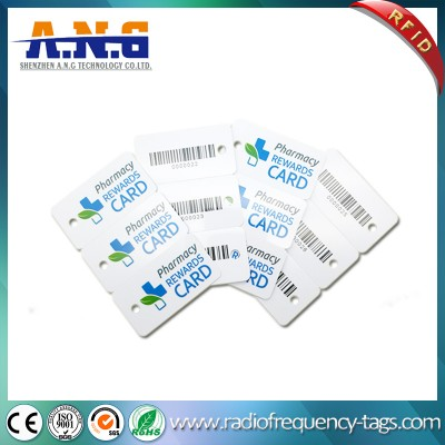 Mini Size RFID PVC Key Card Plastic Gift Combo Card
