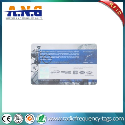 Proximity Access Card RFID Plastic PVC Card with Magnetic Stripe