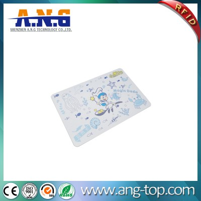 CMYK Printing Matte Contactless RFID Card with Magnetic Stripe