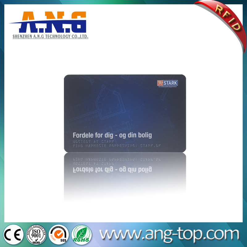 CMYK Color Printing TK4100 PVC Employee ID RFID Smart Card