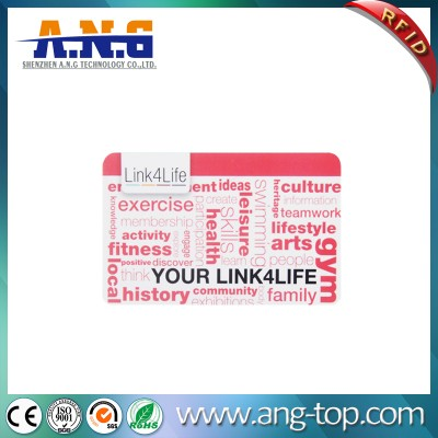 13.56MHZ RFID Plus Smart Card uses AES-128 for authentication