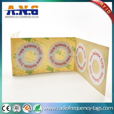ISO15693 Hf RFID CD Labels DVD Stickers for Disc Manegement