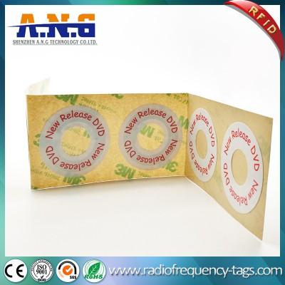 ISO 15693 CD HF RFID DVD etiquetas engomadas para Manegement Disco