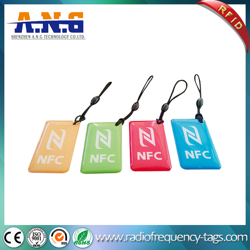 RFID NFC Epoxy Card Jelly Tag for Access Control Systems