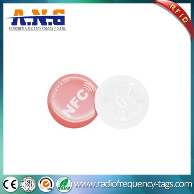 Mini Round RFID Epoxy Card for Access Control