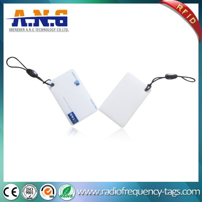 RFID Crystal Epoxy Jelly PVC Card with DESFire EV1