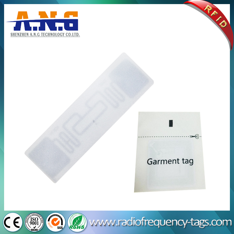 Woven Printed Label Clothig Tag RFID Garment Hang Tag