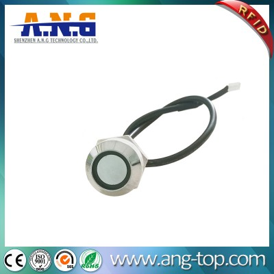 Chrome plated iButton Probe / iButton Reader for transportation and automotive