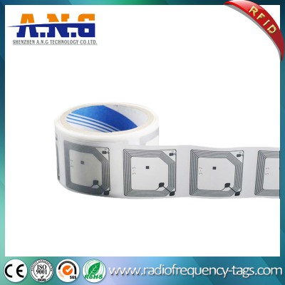 Paper NFC MIFARE Wet Inlay with Adhesives for Asset Tracking