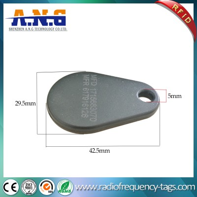 ISO14443A Security Pear Glass RFID Key Tag for Identification