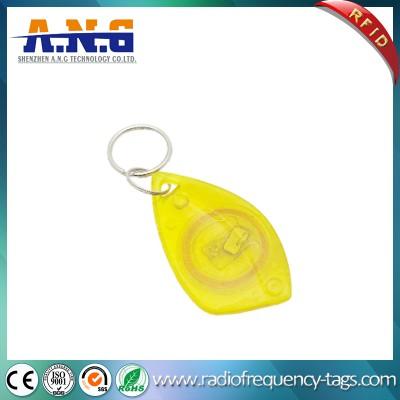 ABS塑料RFID钥匙链鲨鱼与嵌入式RFID应答器